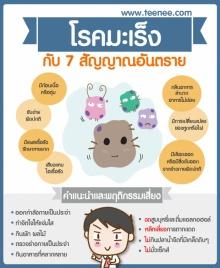 โรคมะเร็ง กับ 7 สัญญาณอันตราย