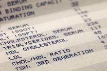คำเเนะนำในการดูผลตรวจระดับคอเลสเตอรอลในเลือด