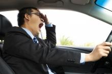 การหลับในขณะขับรถ...อันตราย!!อาจก่อให้เกิดอุบัติเหตุถึงแก่ชีวิตได้