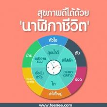 สุขภาพดีได้ด้วย นาฬิกาชีวิต!!