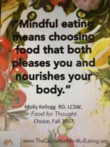 Mindful eating. การกินอย่างมีสติ