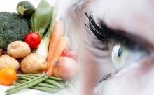 อาหารมีประโยชน์ที่จะช่วยให้สายตาดีขึ้น