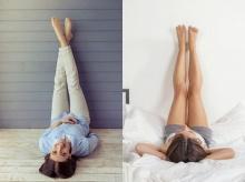 ปรับสมดุลฮอร์โมนง่ายๆด้วยท่า Legs Up The Wall
